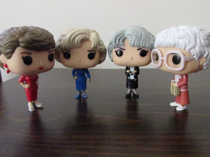 The Golden Girls become a part of my ever-growing Funko Pop collection.