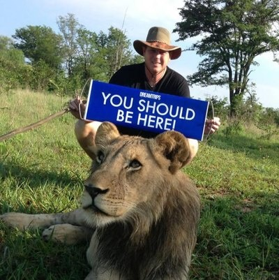 You should. South Africa is awesome! You'd love it. I know you would!