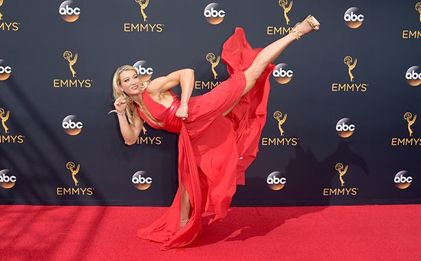 Supergirl stuntwoman Jessie Graff isn't a conventional celebrity, so her red…