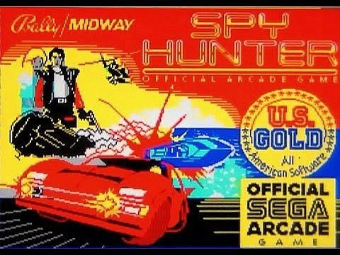 Spy Hunter loading screen ZX Spectrum