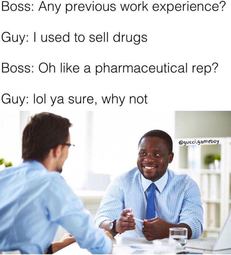 See mom drug selling is a career