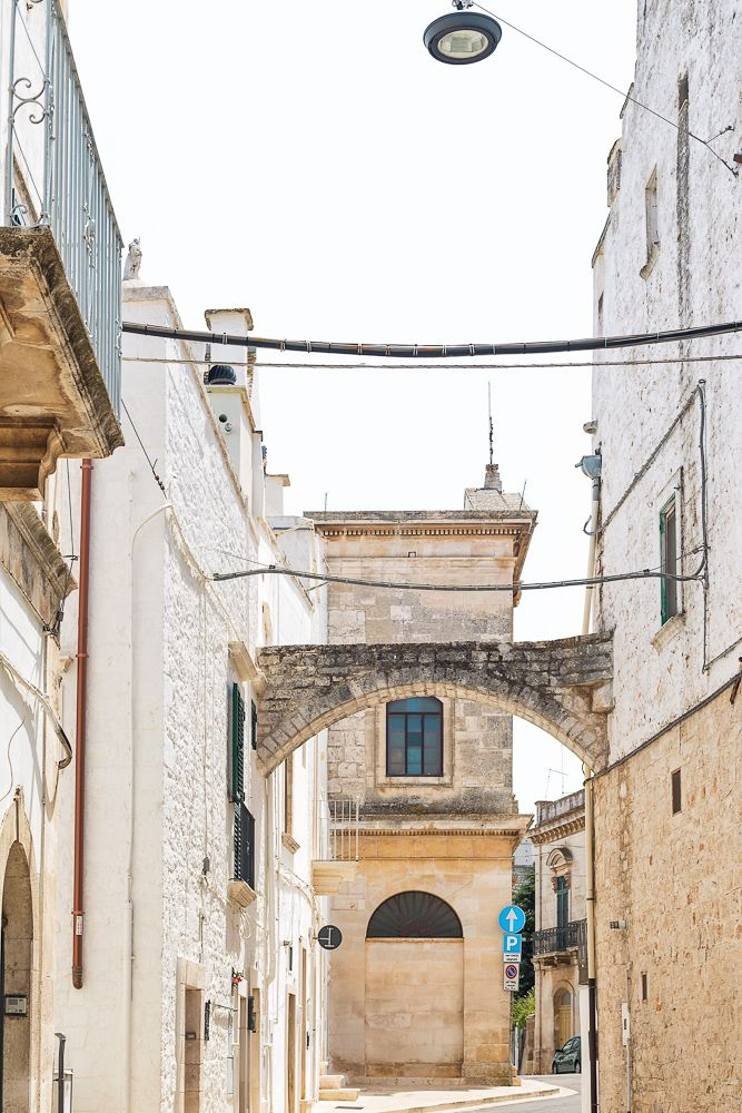 Locorotondo, a beautiful whitewashed town covered in cobblestone streets | Everything you need to know about visiting Puglia, Italy including where to go, what to do, and how to do it.  Polignano a Mare, Alberobello, Gallipoli, Ostuni, Locorotondo and more!