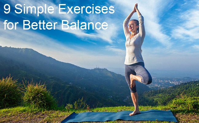 9 Exercises to Improve #Balance. http://www.care2.com/greenliving/9-exercises-to-improve-balance.html