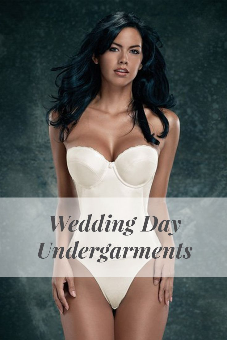 Corset bras and slips that will give you the comfort and support that you need for your wedding day.