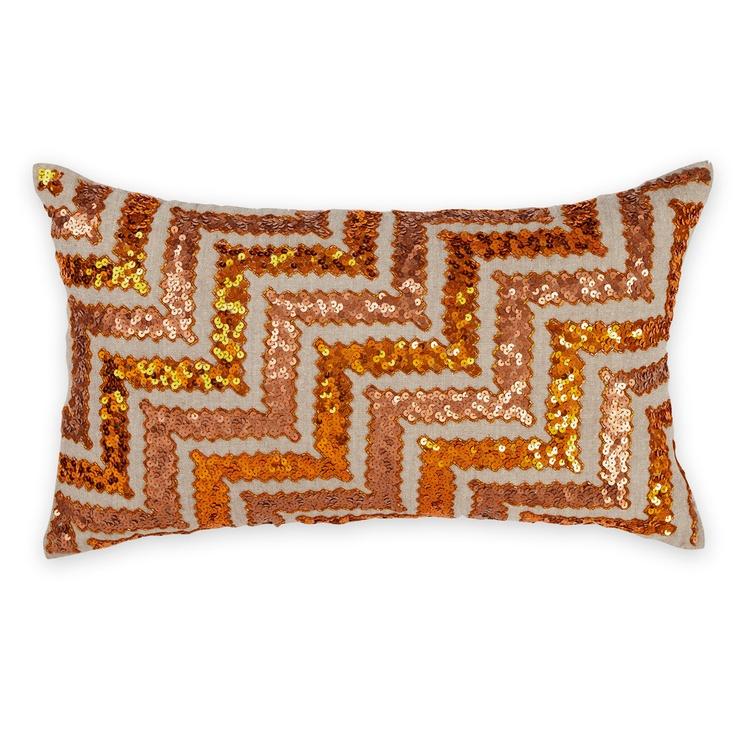 Cusco Sequin Cushion 30x50cm.