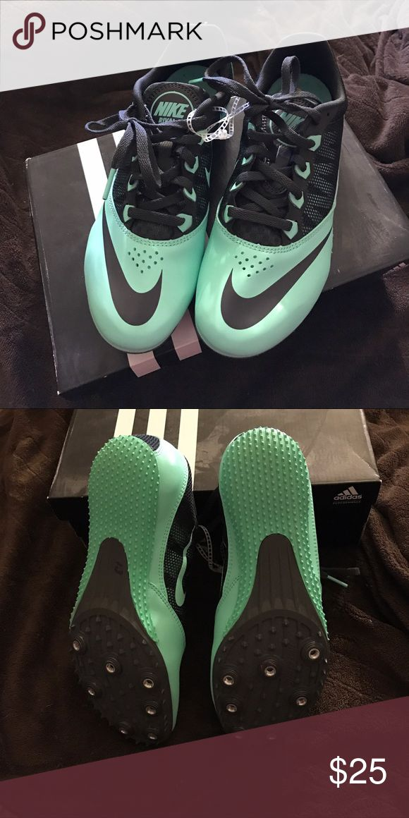 Nike Rivals Track & Field Spikes NWOT Minty green women's Track and field spikes. Nike Shoes Athletic Shoes