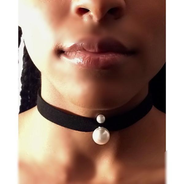Vintage Faux White Pearl Bead Choker – JV Accessories