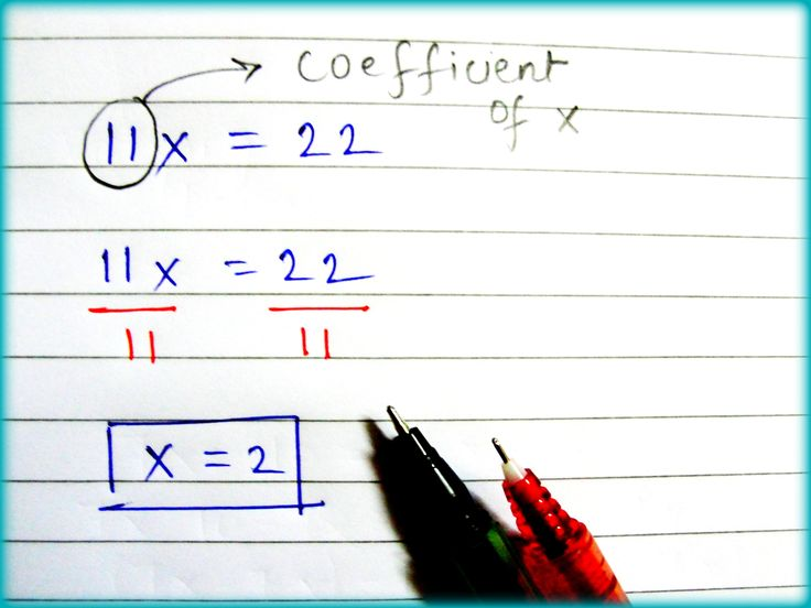 how to solve a linear equation with a degree