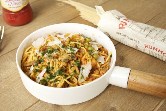 One pot pasta : six recettes de pâtes tout en un