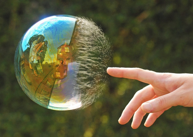 Bubble Pop: Reflection Perfection by richard.heeks, via Flickr