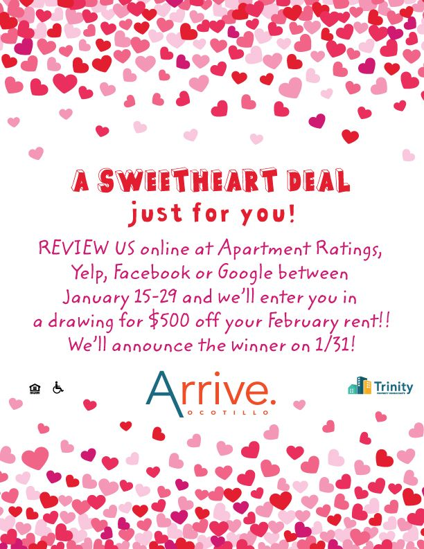 You Could Win 500 Off Your February Rent All You Have To Do Is Review Us Online It S As Easy At That Ar Denver Apartments Highwood Pet Friendly Apartments