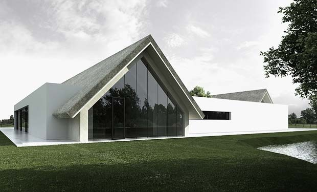 Wedding House by Tamizo Architects Group.