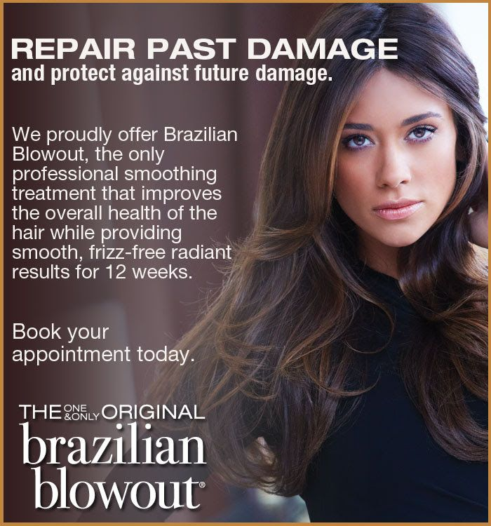 The brazilian blowout is the preferred smoothing treatment for Salon kerat in