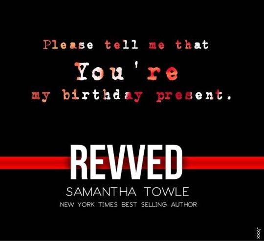 Revved by Samantha Towle