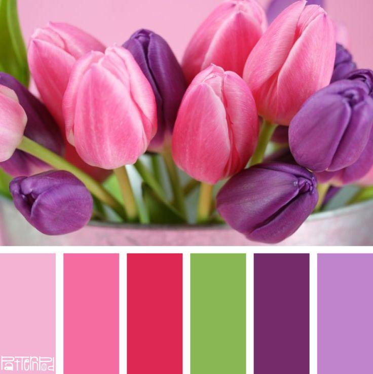 Tantalizing Tulip #patternpod #patternpodcolor #color #colorpalettes #weddings