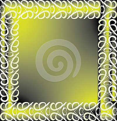 #vintage #border with #yellow and gray shades background