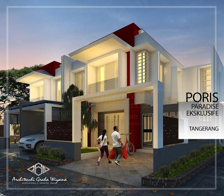 Desain Rumah Minimalis 3 Lantai, Type 190, Sudut/Hook, Lebar 10 meter, 5 Kamar Tidur