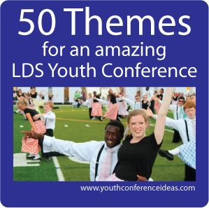50 fun ideas for planning youth conference or camp. #lds  #mormon #youthconference