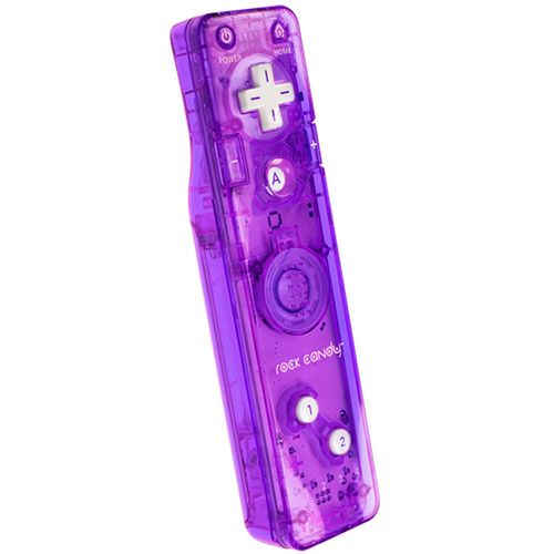 Purple Wii Controller | ... Designed Products Rock Candy Gesture Wii Controllers - Walmart.com