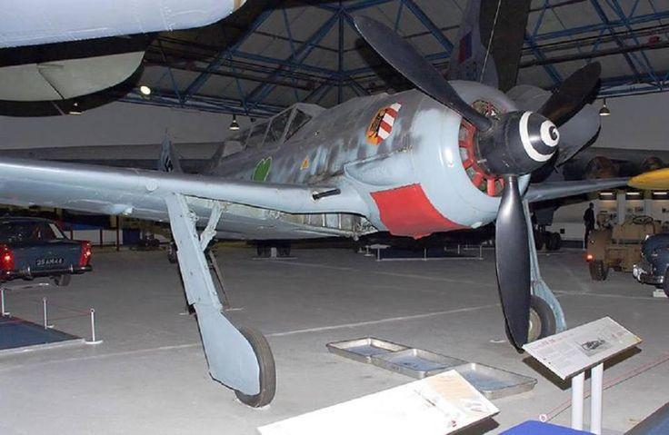 Focke Wulf Fw 190 Doppelsitzige Trainer-Variante des Jagdflugzeugs