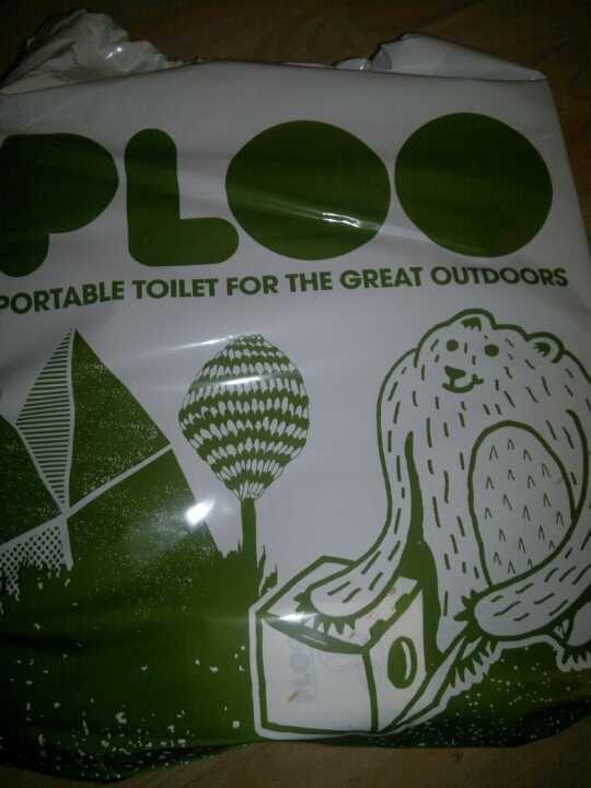 PLOO in it's bag!