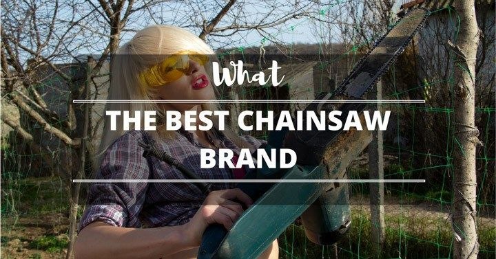 What Is The Best Chainsaw Brand On The Market?