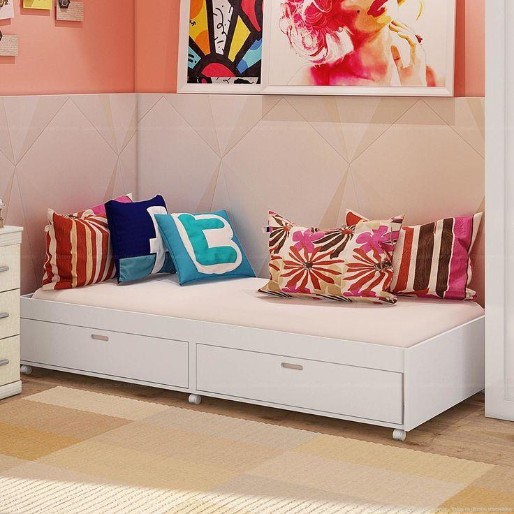 25 melhores ideias sobre duas camas de solteiro no for Sofa cama dos camas