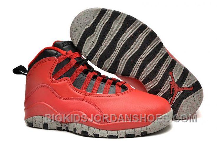 http://www.bigkidsjordanshoes.com/kids-air-jordan-x-sneakers-209-hot.html KIDS AIR JORDAN X SNEAKERS 209 HOT Only $63.30 , Free Shipping!