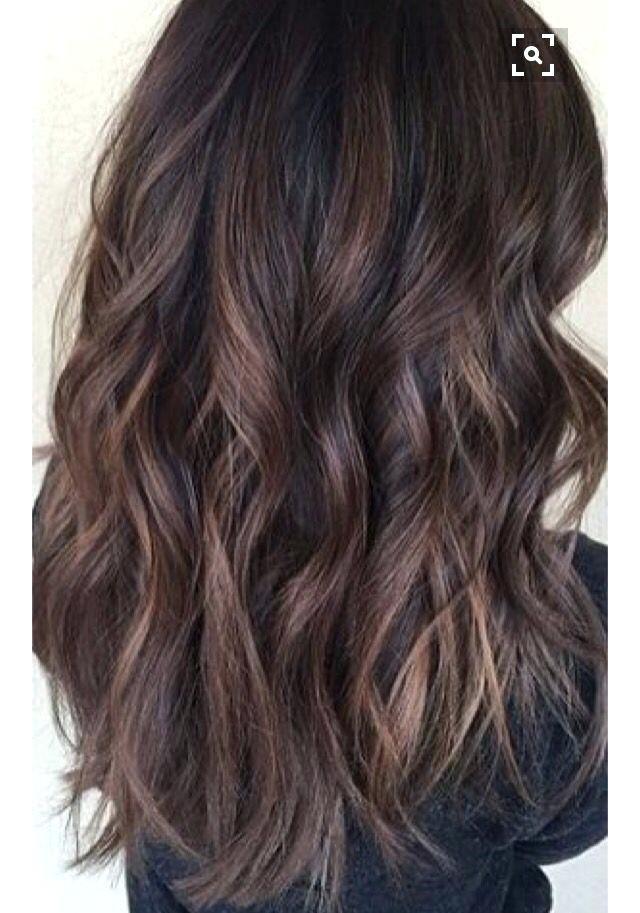 Brown Hair Lowlights Brown Hair Hairstyles Curly Wavy Curls Light Brown Hair With Lowlights Tumblr Curly Hair Styles Brown Wavy Hair Light Curls