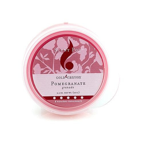 Pomegranate Scent 2.4oz pod last up to 20 hours or more..One of my most popular sellers!!! NEW Pricing on ALL Pods this Summer!!
