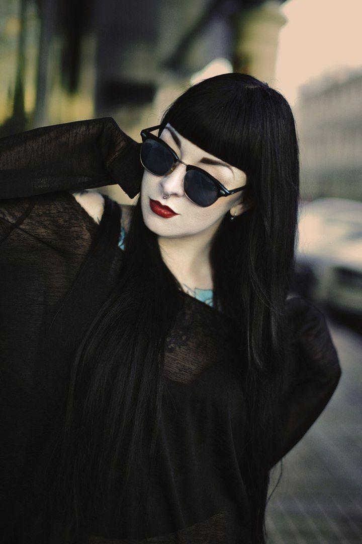 Goff Baby Pinterest Black Hair Pale Skin Black Blonde