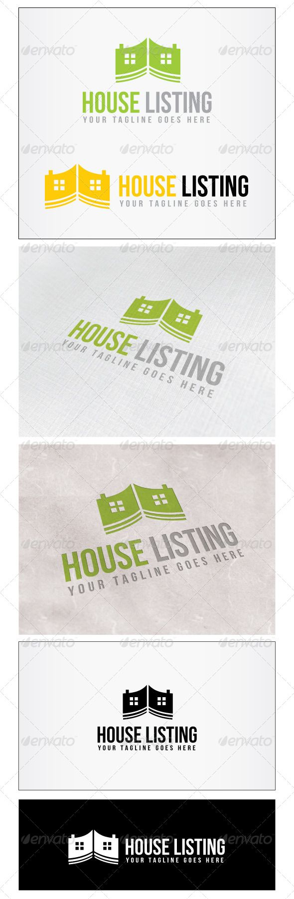 17 best images about logo templates logos fonts house listing logo