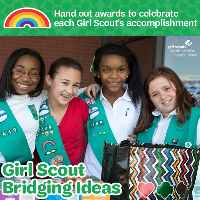 A great way to make your bridging ceremony special is to make awards for each of your Girl Scouts to celebrate their accomplishments over the past year! We have award certificates available in our Girl Scout shop! Swing by and pick up yours today!