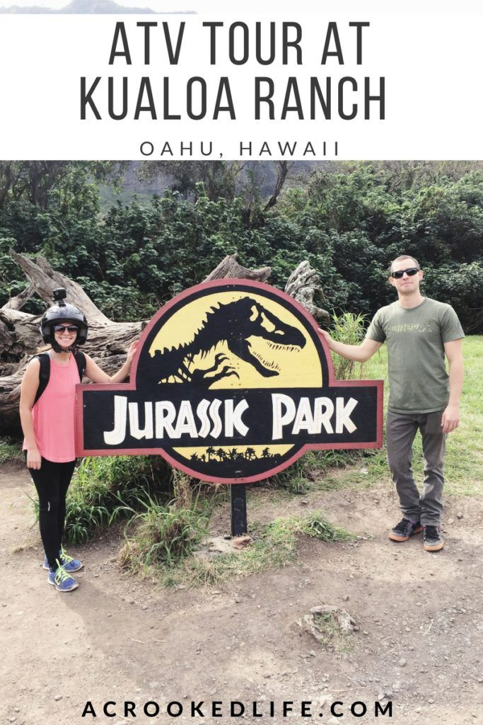 Chad and I did the two hour ATV Tour at Kualoa Ranch this past weekend and I want to share our experience with you all! Click the image to read about our experience and everything you need to know about the tour! | @acrookedlife | Oahu, Hawaii | Kualoa Ranch |