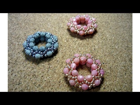 HOW TO: Simple Beaded Pendant (Beading step by step tutorial for beginners) - YouTube