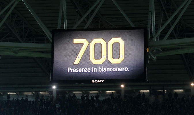 700 presenze in bianconero: Alex Del Piero