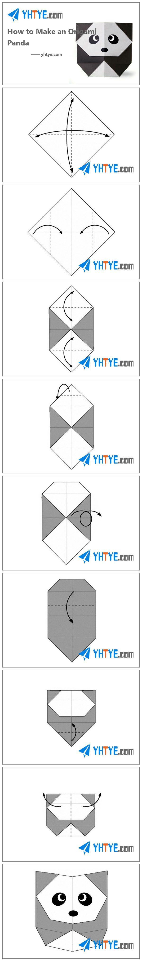 DIY & Crafts from YHTYE.COM Many origami animal patterns