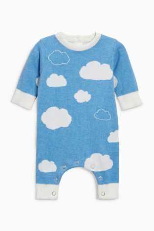 95183d821c6c White Cloud Knitted Romper (0mths-2yrs)