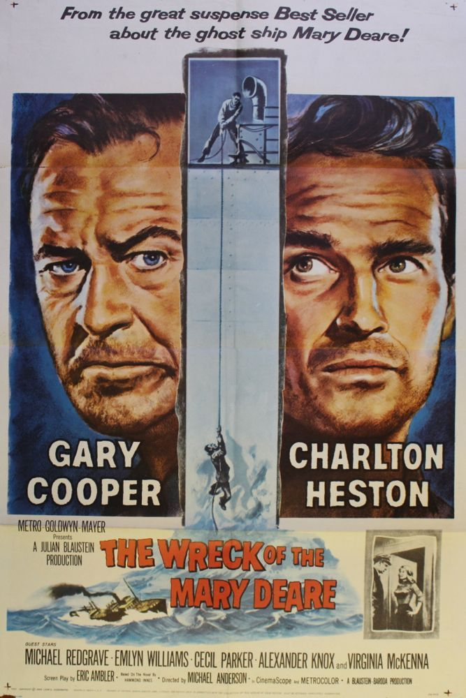 an analysis of the book the wreck of the mary deare Based on the hammond innes novel, the wreck of the mary deare fuses action and suspense and then cloaks it in a court room denouement for practically the first hour of the piece we are left purely in the hands of cooper and heston, both men bouncing off each other with acting gravitas born out of sheer hard work, it really is a thrill to.