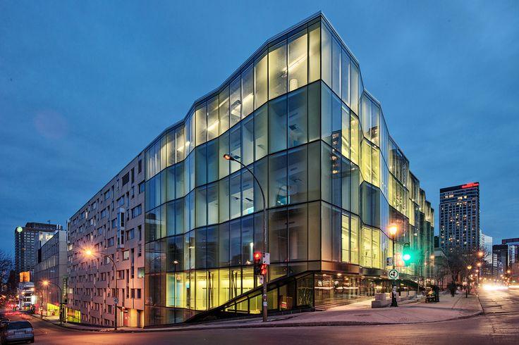 architecture photography: Campus de l'UQAM - Complexe des sciences ...