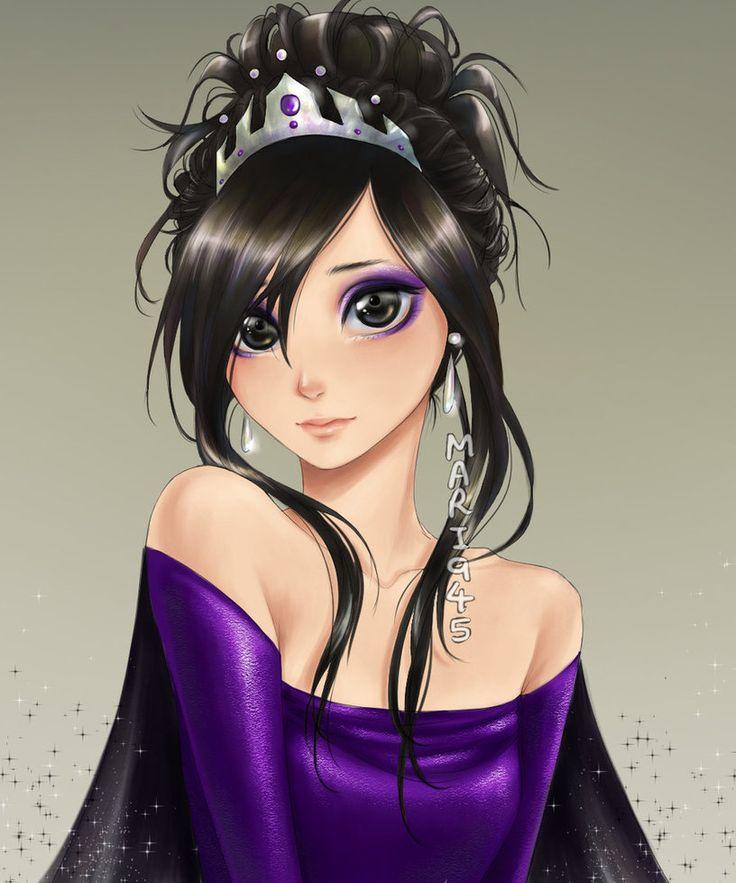 Purple by mari945 on deviantart looks kinda like dark - Manga princesse ...