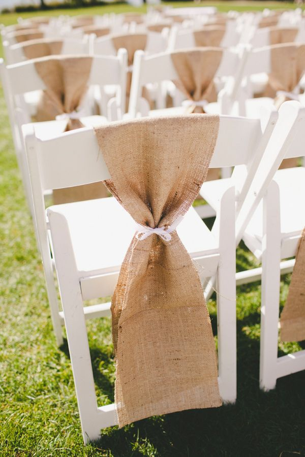 Best 25 Burlap Chair Sashes Ideas On Pinterest Burlap