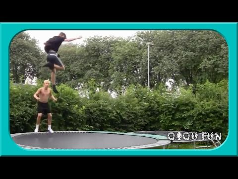 Ultimate Trampoline Fails Compilation (Funny Videos)