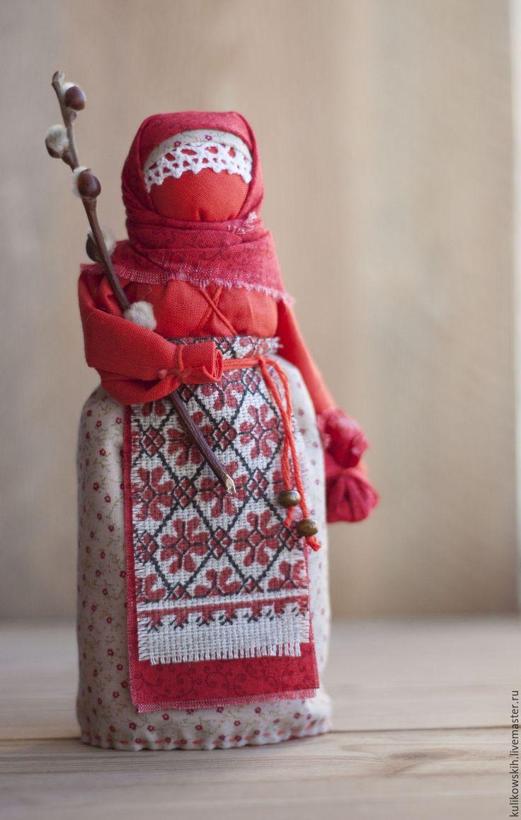 Купить Кукла народная Пасха красная - ярко-красный, Пасха, пасхальный подарок, пасхальный сувенир
