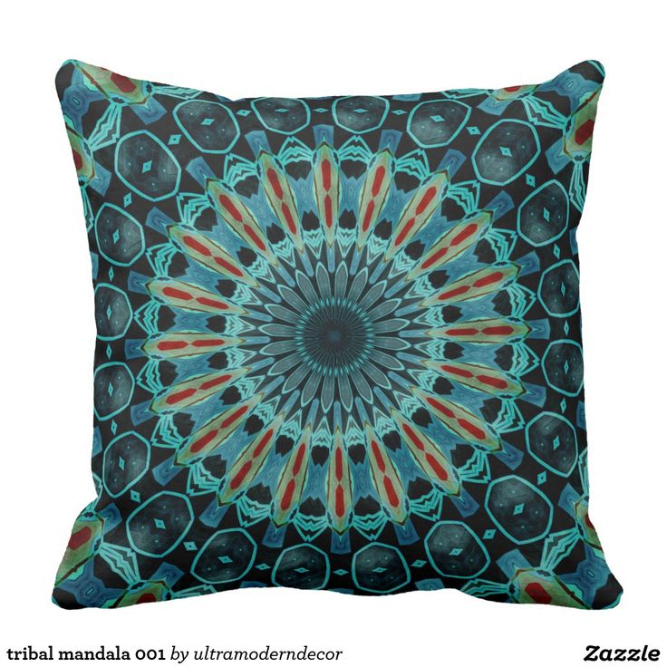 tribal mandala 001 | pillows | Mandala, Wedding gifts ...