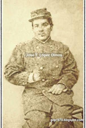 José Tomás López Olmos  Hijo de don Anastasio López y doña Francisca Olmos, bautizado el 31 de marzo de 1861 en Aconcagua.  Al estallar la guerra del Pacífico, José Tomás, de 17 años, residente en San Felipe, decide enrolarse como soldado en el regimiento Buin, 1° de línea.  Participa en la campaña de Lima, en la batalla de San Juan, Chorrillos, el 13 de enero de 1881 donde resulta herido.  Por su participación en la guerra, se hizo acreedor de la medalla por la campaña de Lima.  Casó en…