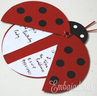 Ladybug Invitation Ideas was perfect invitations design