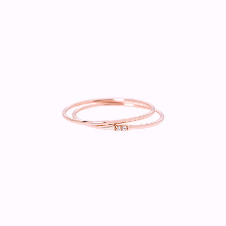 Set Circle rings / Hortense Jewelry