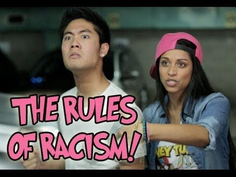 Ryan Higa and Superwoman together.  Also, I like racist slurs *awkward silence*