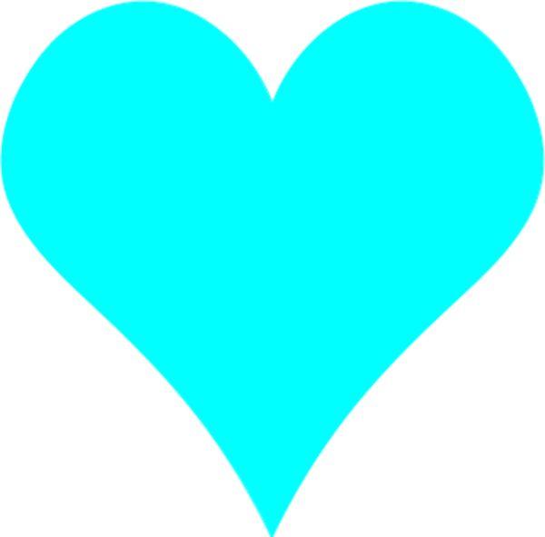 teal hearts   teal heart clip art   Clip art, Heart clip ...